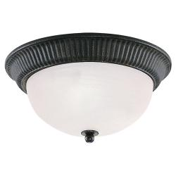 Catrina Collection Single Light Flush Mount