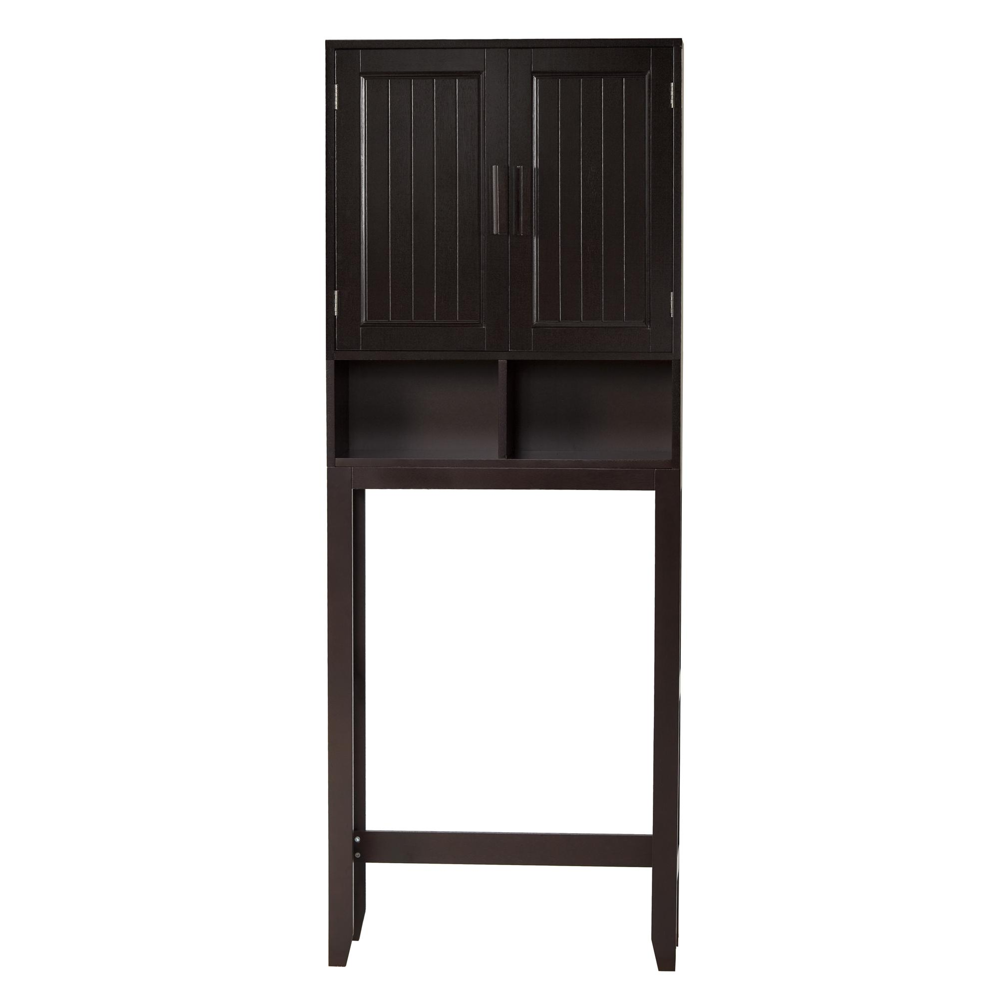 Covington Dark Espresso Space Saver by Elegant Home Fashions
