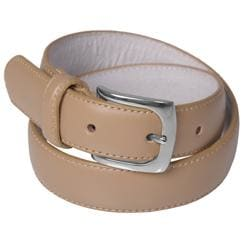 Daxx Unlimited Boy's Genuine Leather Tan Belt