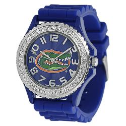 Geneva Platinum Women's Rhinestone University of Florida Watch