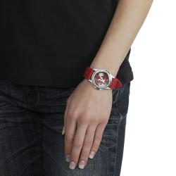 Geneva Platinum Women's Rhinestone University of Alabama Watch