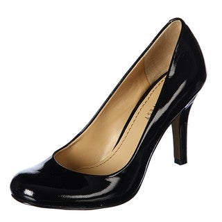 Nine West Women's 'Ambitious' Black Patent Pumps