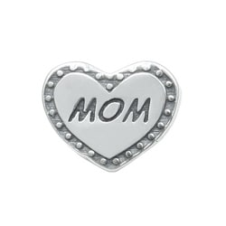 Signature Moments Sterling Silver Mom Bead