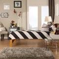 TRIBECCA HOME Simone Honey Pine Twin Captain Bed