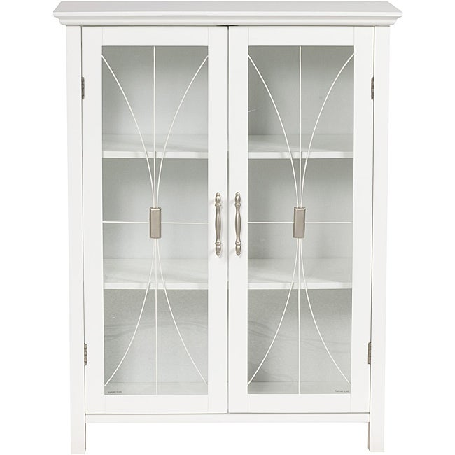 Veranda Bay White Floor Cabinet