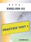Aepa English 02 Practice Test 1 (Paperback)
