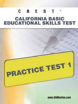 CBEST California Basic Educational Skills Test: Practice Test 1 (Paperback)