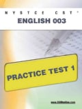 Nystce Cst English 003 Practice Test 1 (Paperback)