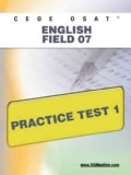 Ceoe Osat English Field 07 Practice Test 1 (Paperback)