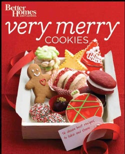 Better Homes and Gardens Very Merry Cookies (Paperback)