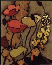 Shirley Novak 'Colours De La Nuit I' Canvas Art