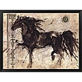 Marta Gottfried Wiley 'Lepa Zena' Framed Canvas Art