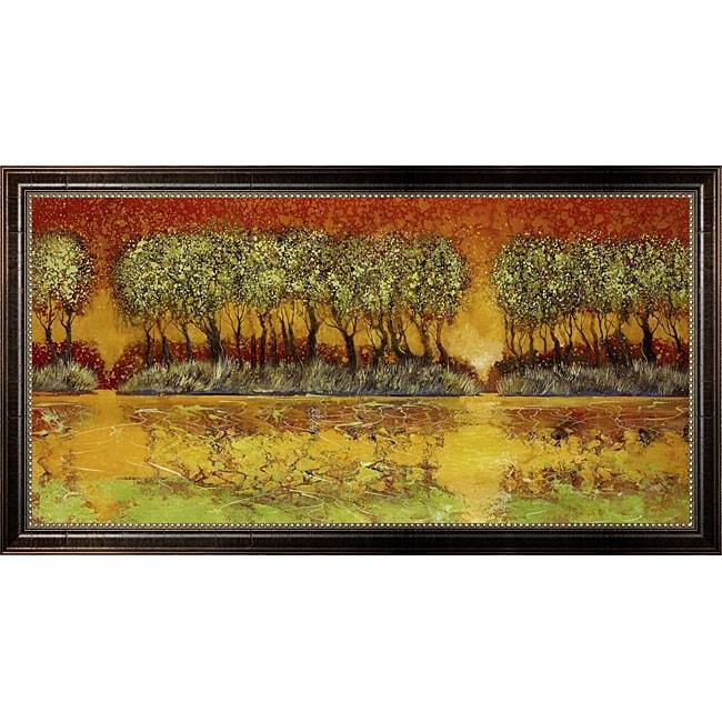 Ford Smith 'Natural Phenomenon' Framed Canvas Art