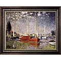 Claude Monet 'Argenteuil' Framed Canvas Art
