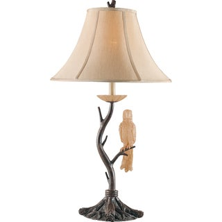 Aviary Aged Driftwood 1-light Table Lamp