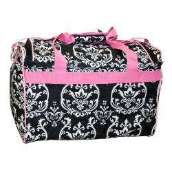 Jenni Chan Damask City 18 Inch Carry On Lined Duffel Bag with Strap