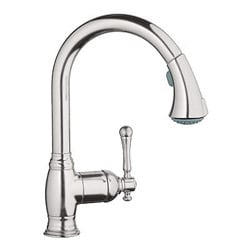 Grohe Bridgeford Single-handle Brushed Nickel Kitchen Faucet