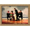 Jack Vettriano Medium-Size 'Elegy for the Dead Admiral' Framed Art