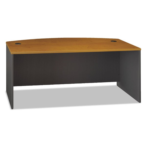 Bush Series C Bow Front Desk (71 x 36)