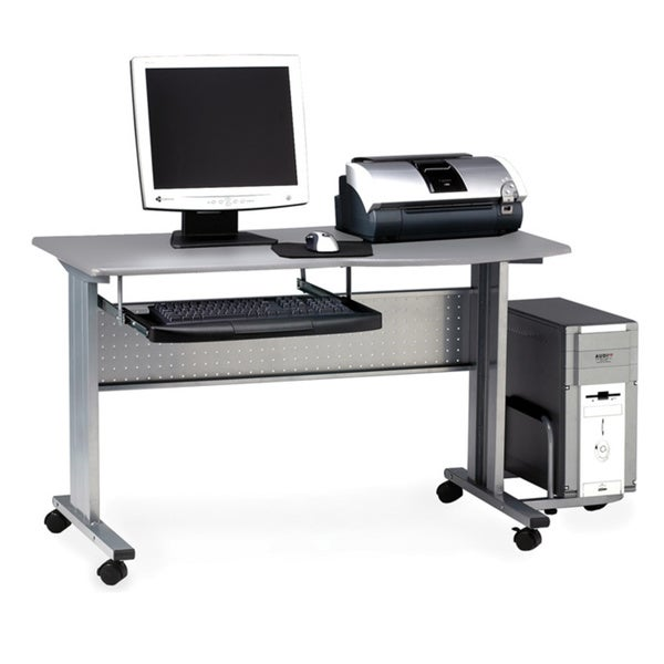 Mayline Eastwinds 57-inch Mobile Work Table