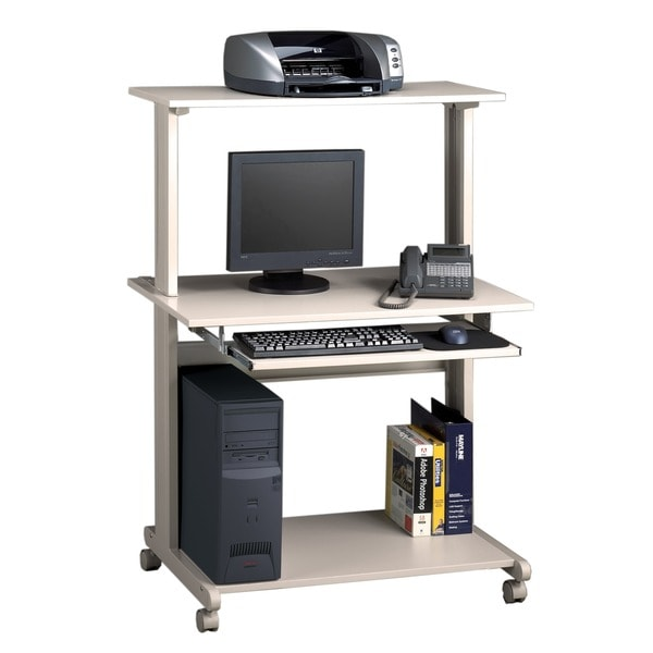 Mayline Eastwinds Grey Multimedia Workstation