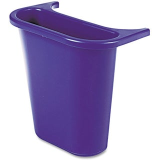 Rubbermaid Commercial Blue 4.75qt Attaching Recycling Side Bin