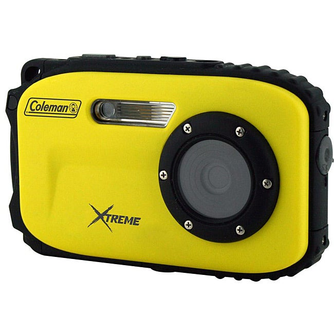 Coleman Xtreme 12MP Waterproof Yellow Digital Camera