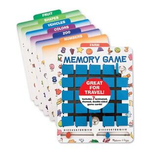 Melissa & Doug Flip to Win Memory Game - White
