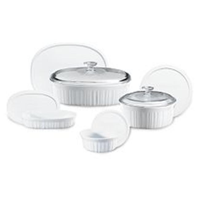 Corningware French White 10-Pc Set
