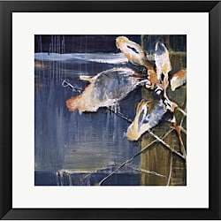 Terri Burris 'Life from the Sea I' Framed Art Print