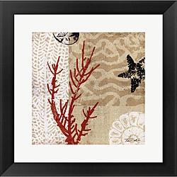Tandi Venter 'Coral Impressions I' Framed Art Print