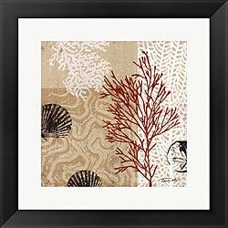 Tandi Venter 'Coral Impressions II' Framed Art Print
