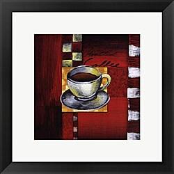 Stacey Novak 'Brewing Coffee' Framed Art Print