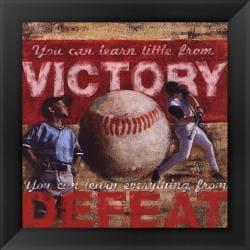 Robert Downs 'Victory - Baseball' Framed Print Art