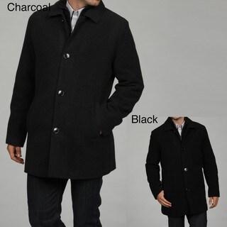 Kenneth Cole Reaction Men's Wool Blend Car Coat