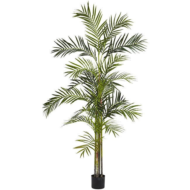 Silk Palm Trees Areca Palm 6-foot Silk Tree