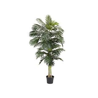 Nearly Natrual Golden Cane Palm 8-foot Silk Tree 7906029
