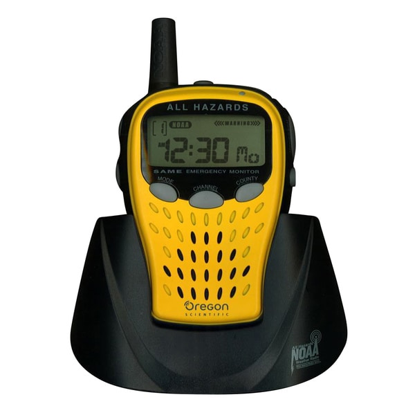 Oregon Scientific Yellow Emergency Weather Radio