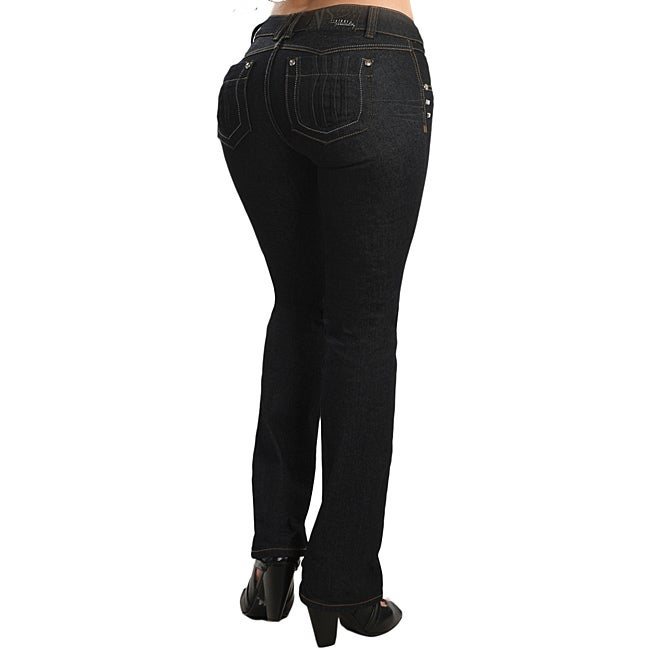 Lissy Women's Stretch Push-up Jeans