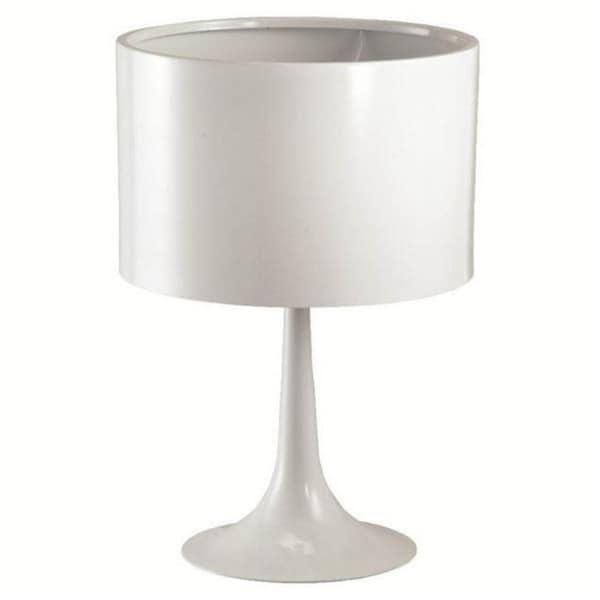 Tulip Black/ White Table Lamp
