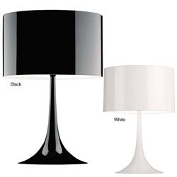 Tulip Black/ White Table Lamp