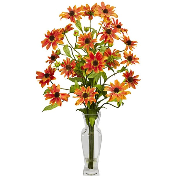 Silk 27-inch Cosmos Flower Arrangement 7907775