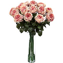 Silk 31-inch Rose Flower Arrangement