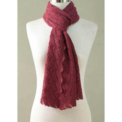 Alpaca Wool 'Warm Waves' Scarf (Peru)