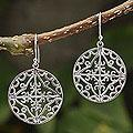 Sterling Silver 'Starlight' Earrings (Peru)
