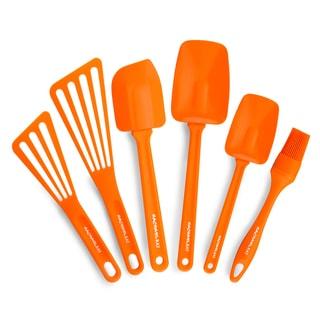 Rachael Ray Orange 6-piece Kitchen Utensil Set