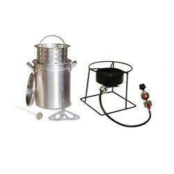 King Kooker Fry, Boil and Steam Cookware Set