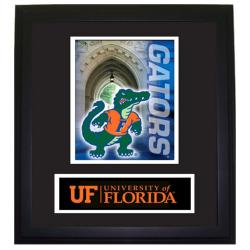 Florida Gators Wood Wall Hanging Framed Logo