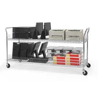 OFM 24 x 72-inch Heavy Duty Mobile Cart
