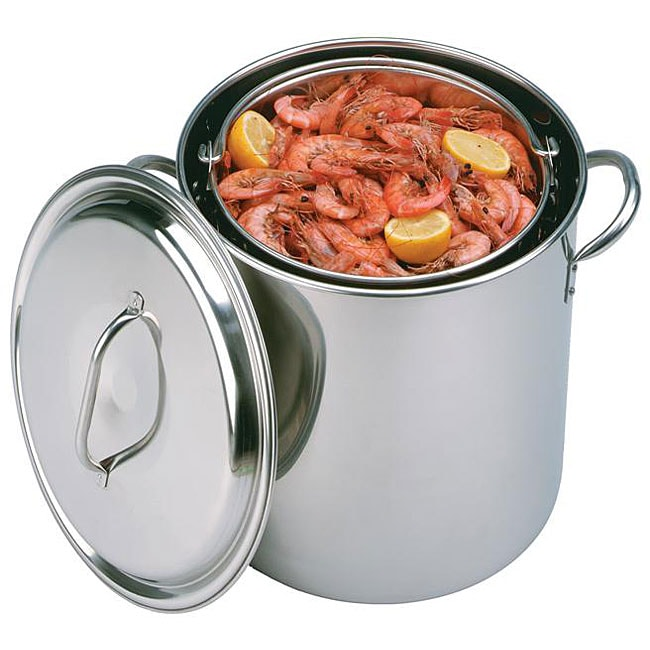 King Kooker 32-quart Stainless Steel Boiling Pot